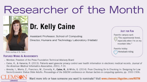 researcher of the month